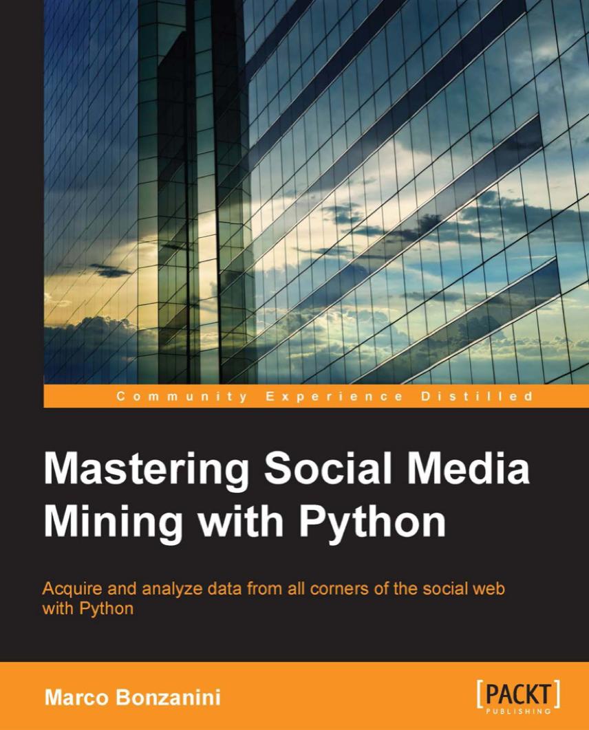 Mastering Social Media Mining with Python at Social-Media.press