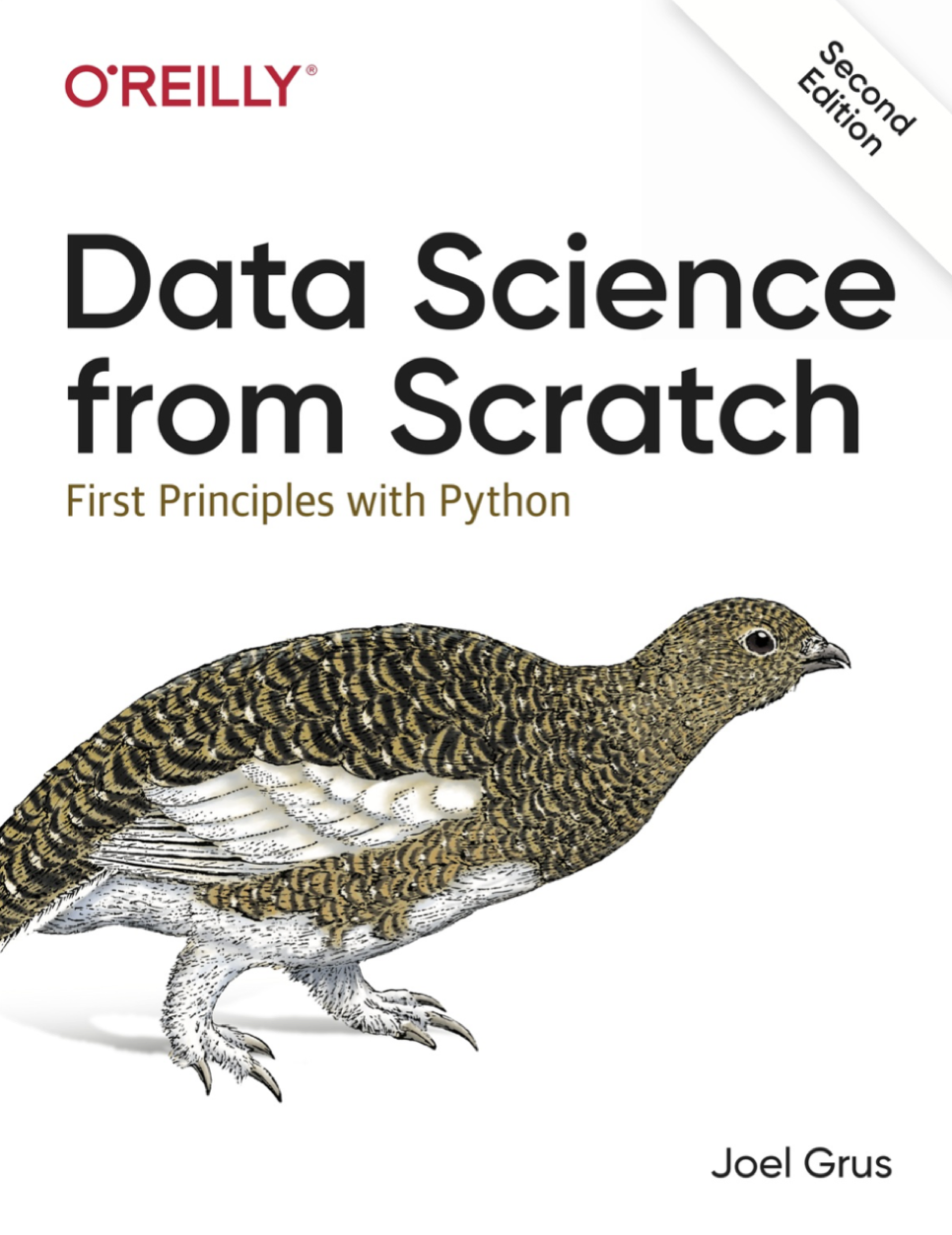 Data Science from Scratch. First Principles with Python at Social-Media.press