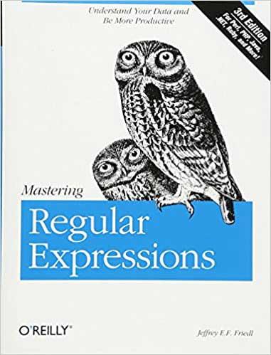 Mastering Regular Expressions on python.engineering